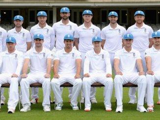 England Men name squad