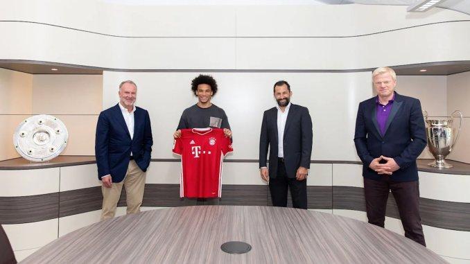 Leroy Sané has joined Bayern Munich