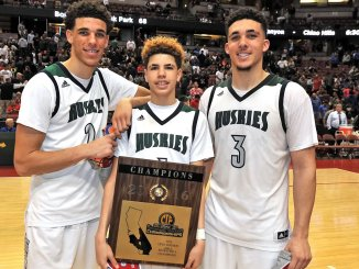 All three Ball brothers are now in the NBA. Fire