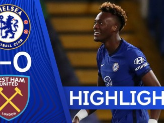 3 goals and 3 points at Stamford Bridge came courtesy of a Thiago Silva header and fast double from Tammy Abraham!