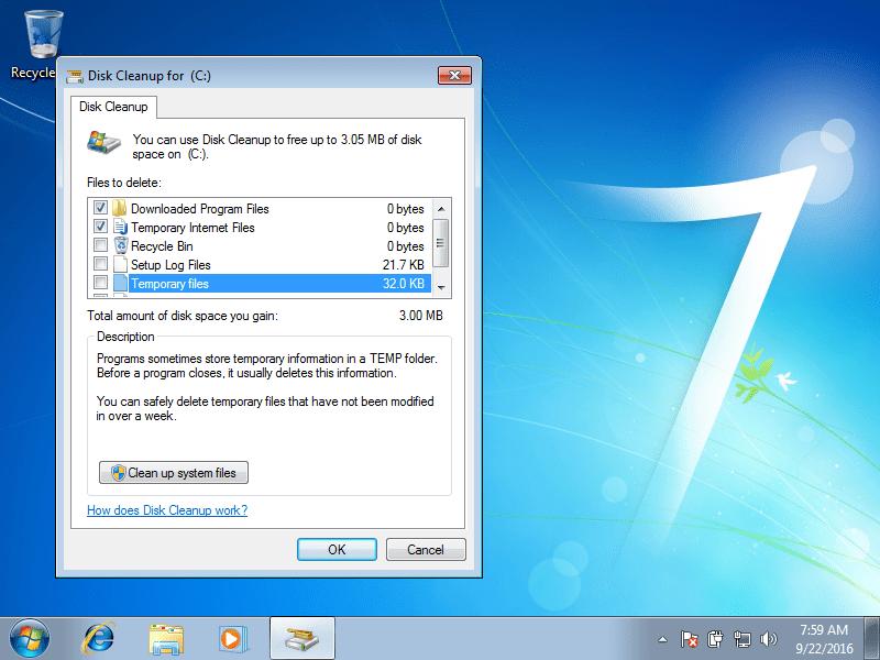 Delete Temporary Files and Folders: Guide for Windows XP, Vista, 7