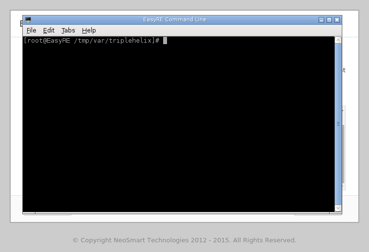 EasyRE Command Line