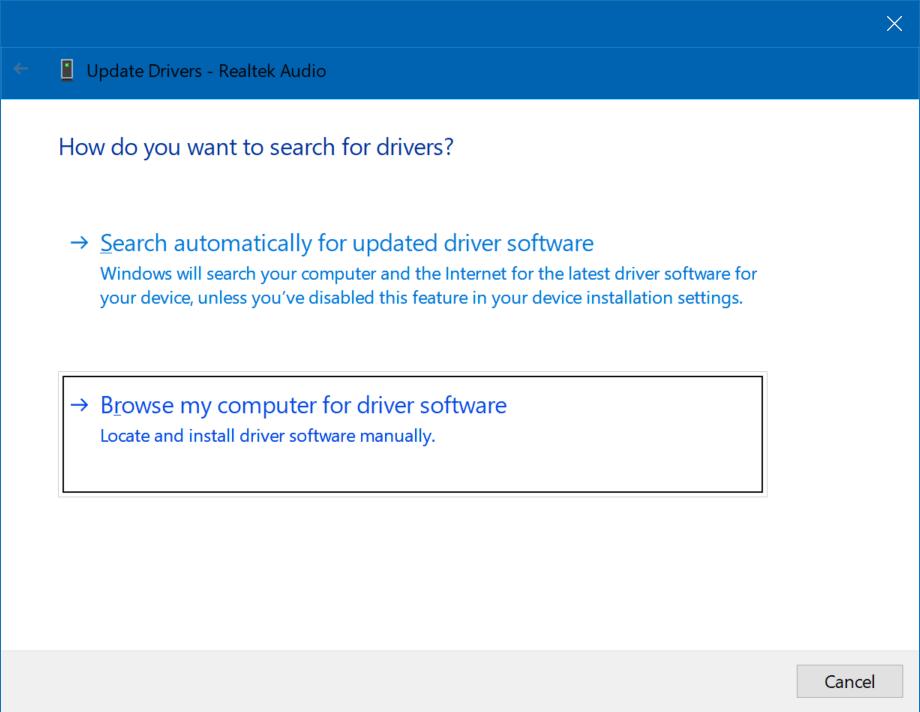 Fixing Realtek audio driver lag on Windows 10