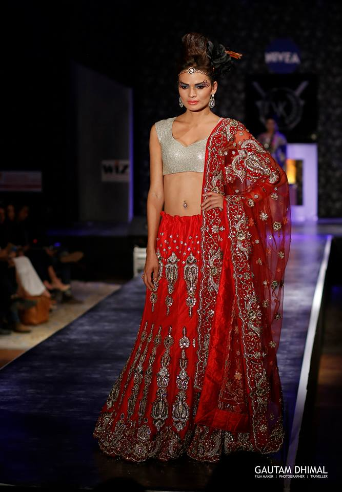 Anjali Lama IN COUTURE WEAR