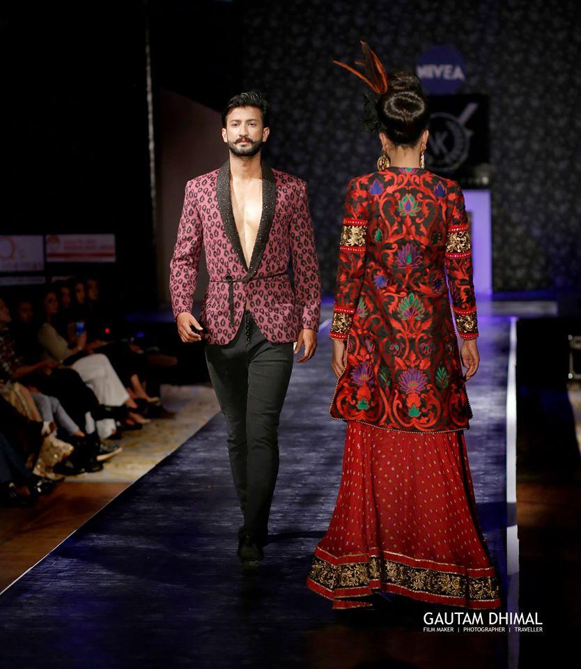 Dikshanta Prasai IN FUSION WEAR