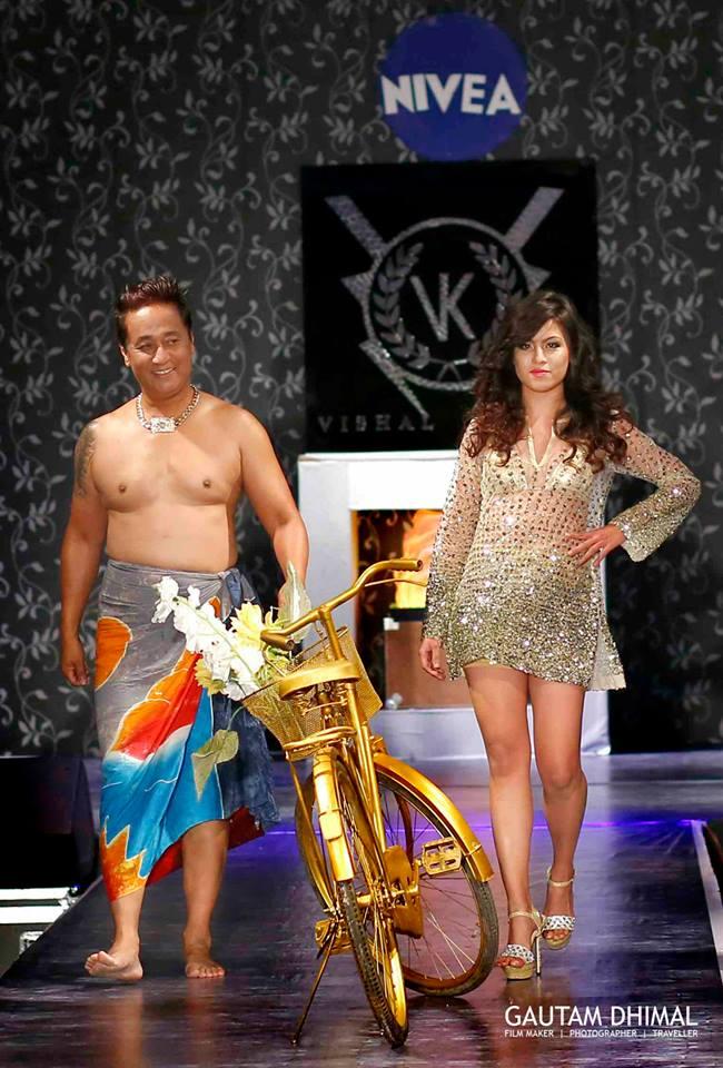 SHOW-OPENERS - CAPTAIN Vijay Lama & Anupama Aura Gurung