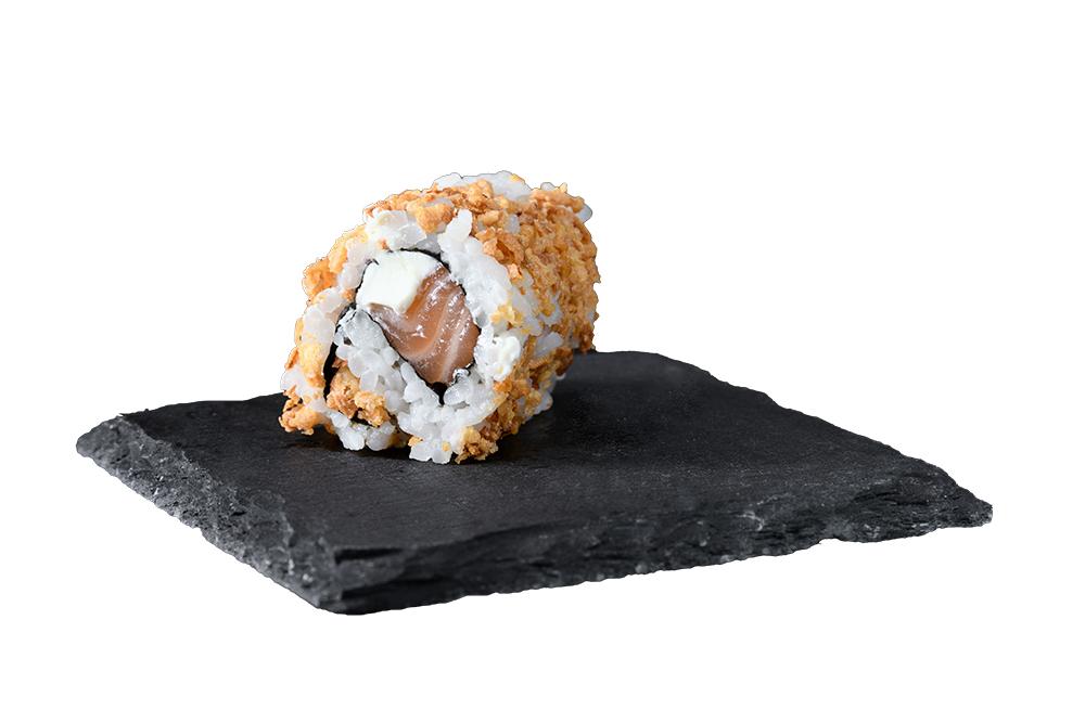 crispy roll saumon cheese