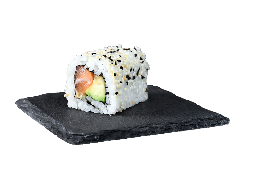 roll saumon avocat