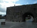 The last remaining bit of the Galway city wall.