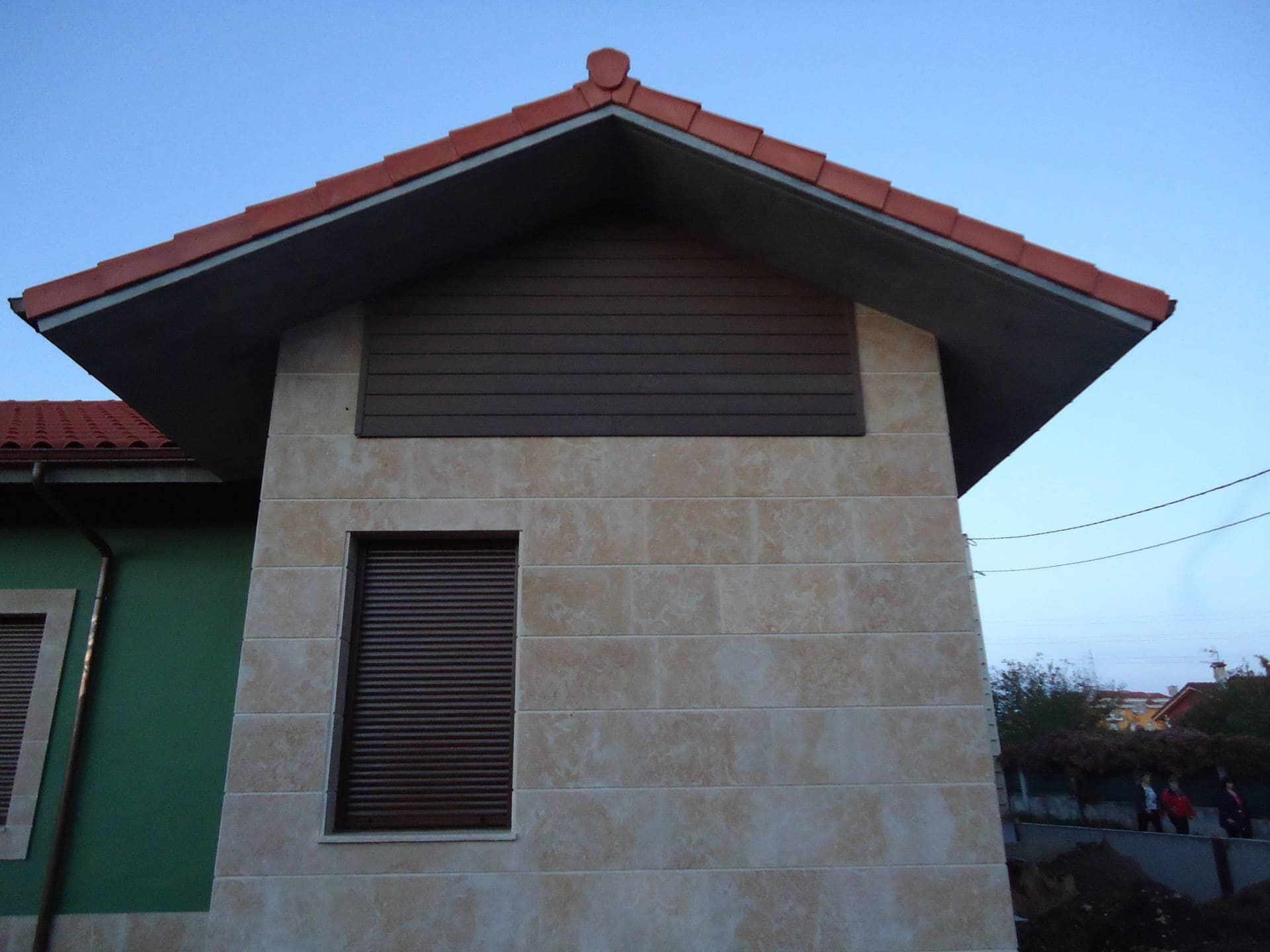 decoracin de fachadas con sinttico neolack coffee