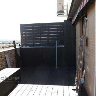 tarima y vallado composite exterior