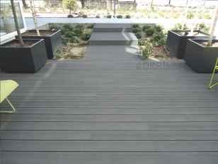 tarima composite zona terraza jardines