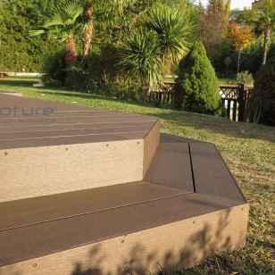 tarima sintetica exterior jardin