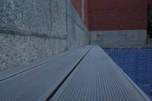 tarima exterior sintetica para colocacion en piscinas