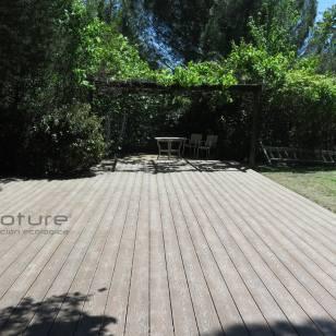 tarima sintetica exterior para terrazas