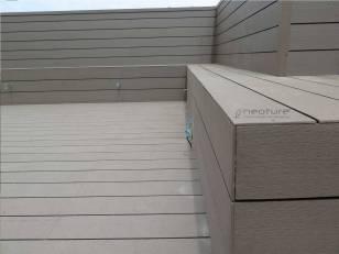 tarima revestimiento suelos y bancos en madera sintetica exterior
