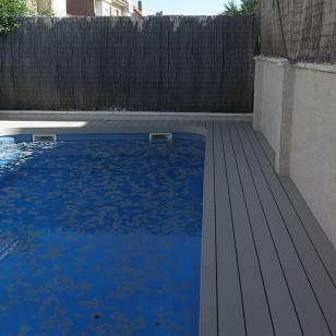 Tarima composite piscinas