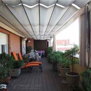 Tarima madera sintetica exterior terraza