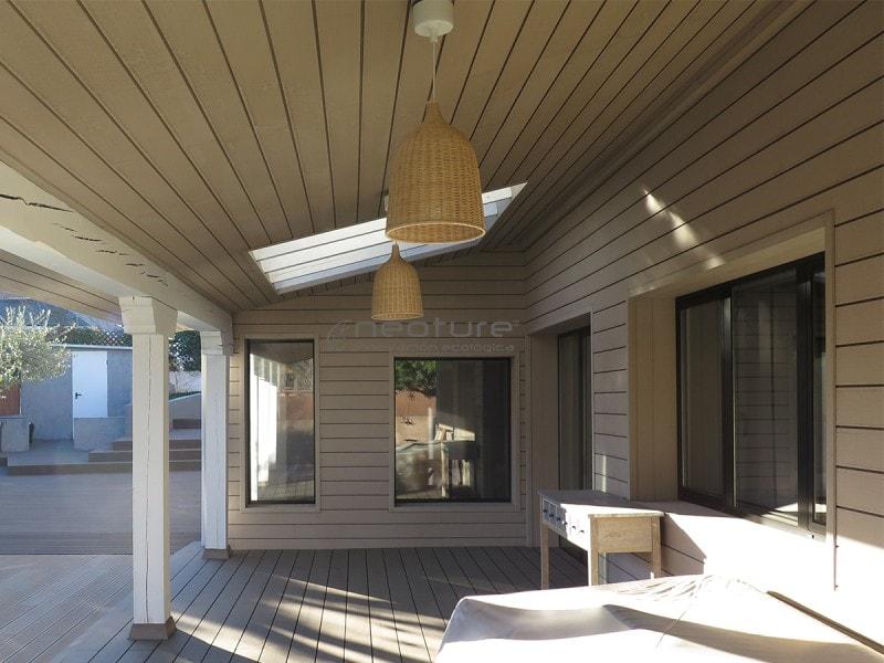 revestimiento composite para paredes y techos