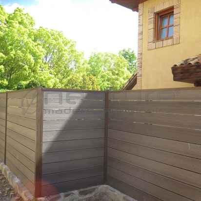 Cerramiento de madera sintetica Neoture