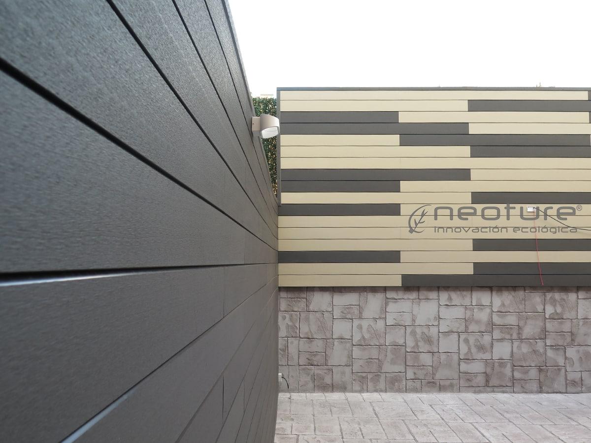 Paneles de revestimiento exterior paredes y fachadas de alta durabilidad - Revestimiento para exterior ...
