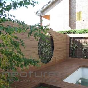 Revestimiento exterior fachada wood veteado