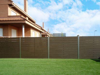 valla madera tecnologica exterior terraza