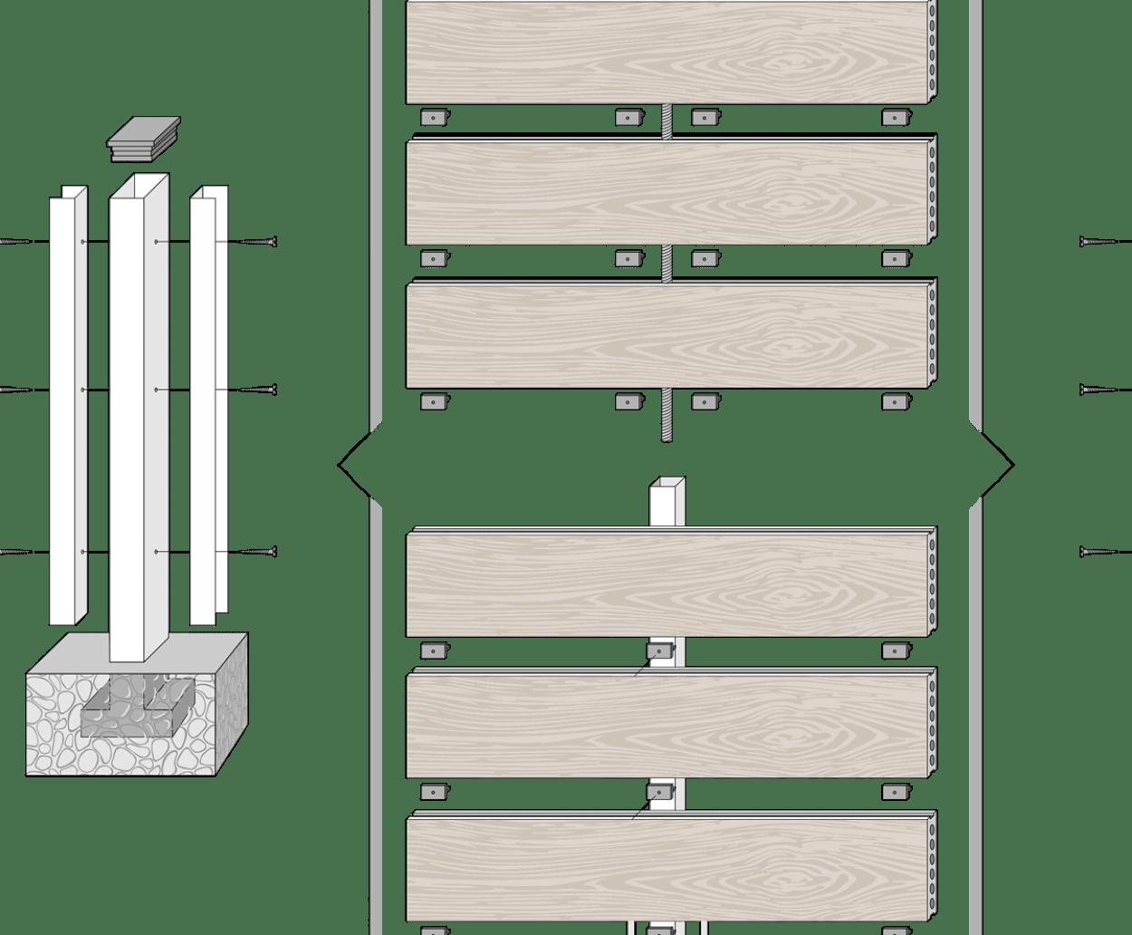vallado madera tecnologica neocros