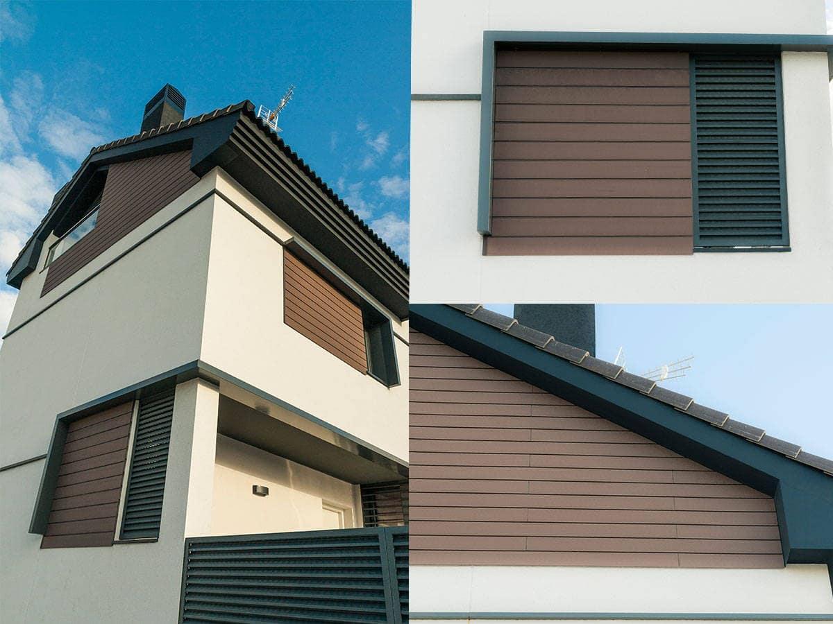 fachada de composite