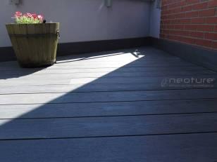 tarima madera exterior sin mantenimiento color silver