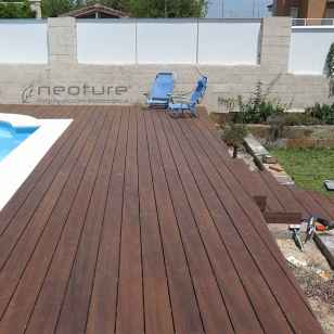 tarima sintetica exterior para piscinas encapsulada