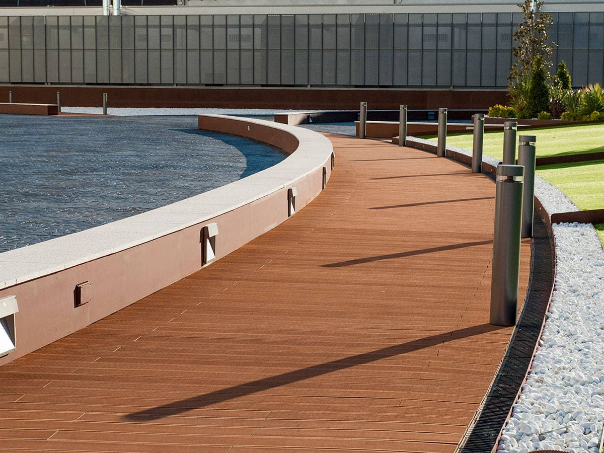 Tarima tecnologica para exterior la madera de alta - Tarimas de madera para exterior ...