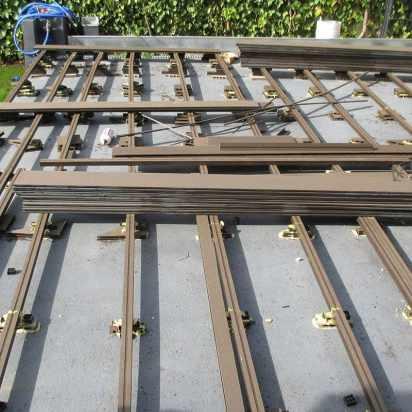 madera exterior sintetica rastrelado