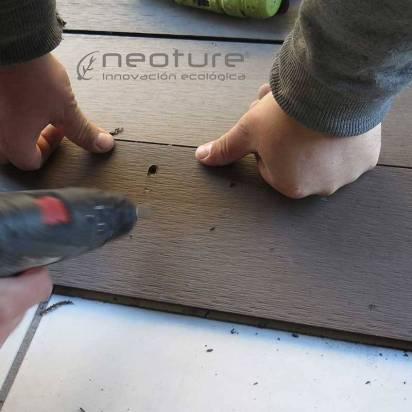 Rampas tarima exterior madera sintética