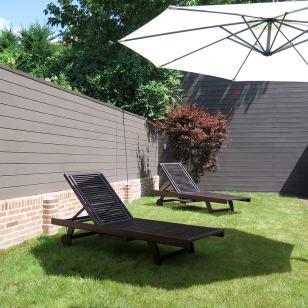 valla exterior jardin madera composite neolack