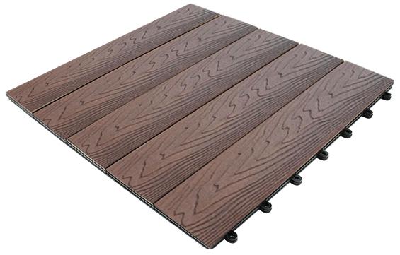 la baldosa composite para terraza el suelo de exterior ms fcil de instalar