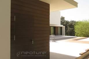 Revestimiento exterior en madera composite encapsulada NeoCros Ipe