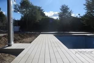 Tarima madera sintética exterior NeoTeck Sand.
