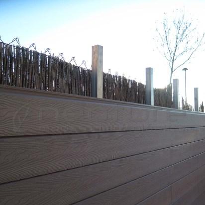 valla medianera de composite