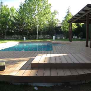 Suelo exterior de madera tecnológica Neoteck