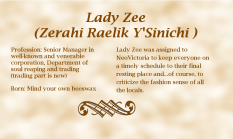 Lady Zee biography