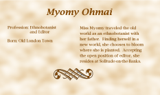 Myomy Ohmai biography
