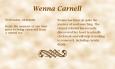 Wenna Carnell biography