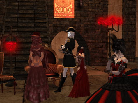Mask'd Ball at the Castle