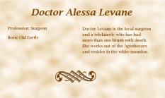 Dr. Alessa Levane biography