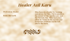 Healer Asil Karu