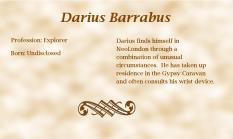Darius Barrabus biography