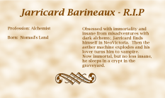 Jarricard Barineaux biography