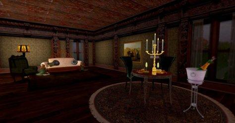 Warm Interior by Rowena