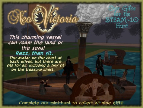 NeoVictoria Gifts for Steam 10: Dream Boat
